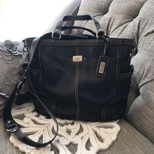 The Sak Leather CrossBody Purse Handbag